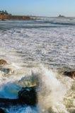 Tarde del verano tardío de los trituradores de Piedras Blancas foto de archivo libre de regalías