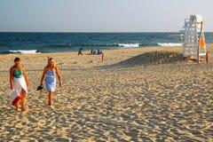 Tarde do fim do verão, Hampton do leste fotos de stock royalty free