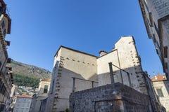 Tarde Dubrovnik fotografia de stock