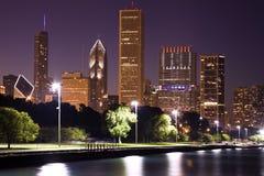 Tarde en Chicago Fotografía de archivo libre de regalías