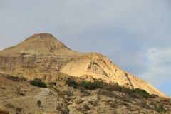Tarde en el desierto de Judea. fotografía de archivo