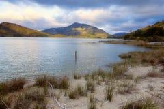 Tarde en el lago Fotografía de archivo