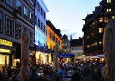 Tarde en Estrasburgo Foto de archivo libre de regalías