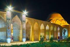 Tarde en Kermán viejo, Irán Imágenes de archivo libres de regalías