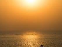 Tarde en la impulsión marina Bombay Fotografía de archivo libre de regalías