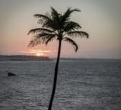 Tarde en la playa fotos de archivo