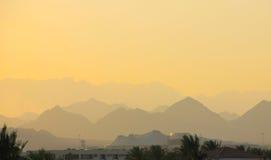 Tarde en Sinaí Fotos de archivo