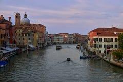 Tarde en Venecia Imagen de archivo libre de regalías