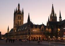 Tarde en Ypres foto de archivo