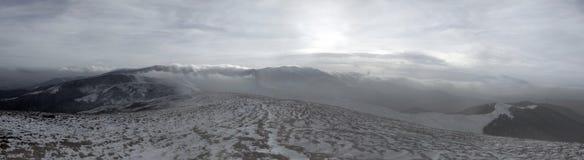 Tarde fantástica de la montaña Imagen de archivo libre de regalías