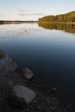 Tarde finlandesa del verano Imágenes de archivo libres de regalías