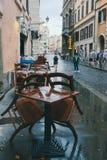 Tarde Lazio da chuva de Roma, Itália imagem de stock royalty free