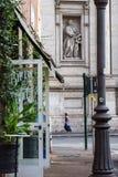 Tarde Lazio da chuva de Roma, Itália imagem de stock
