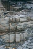 Tarde Lazio da chuva de Roma, Itália fotografia de stock