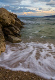 Tarde na praia Foto de Stock