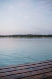 Tarde no lago Fotos de Stock