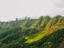 Tarde nublada en Binh Lieu Fotografía de archivo