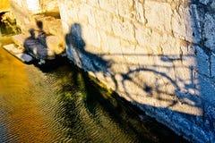 Tarde por el río Imagenes de archivo