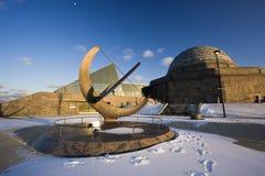 Tarde por Planetarium imagem de stock royalty free