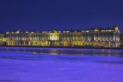 Tarde St Petersburg, Rusia Imagenes de archivo