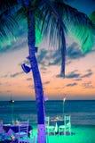 Tarde tropical de la playa Imagenes de archivo