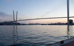 Tarde Vladivostok Fotos de archivo