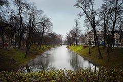 Tarde Wroclaw, Polonia Fotografía de archivo