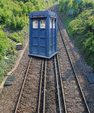 Tardis arrival Stock Images
