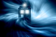 Tardis fantasy background Royalty Free Stock Image
