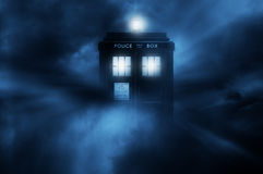 Tardis illustration Royalty Free Stock Image