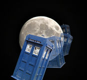 Tardis space travel Royalty Free Stock Image