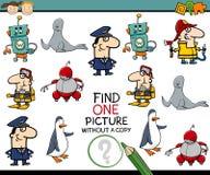 Tarea educativa preescolar Imagen de archivo libre de regalías