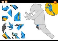 Tarefa do enigma de serra de vaivém para crianças ilustração royalty free