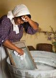 Tarefas da tábua de lavar Imagem de Stock