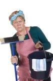 Tarefas domésticas aborrecidas Imagens de Stock