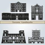 Tarento landmarks and monuments Stock Photo