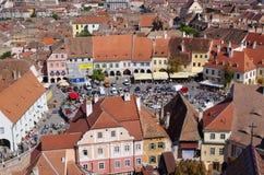 Targ Ceramica em Sibiu, Romênia Imagem de Stock Royalty Free
