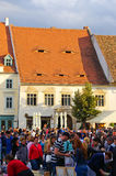 Targ Ceramica a Sibiu, Romania Immagine Stock