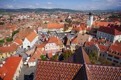 Targ Ceramica w Sibiu, Rumunia Obraz Royalty Free
