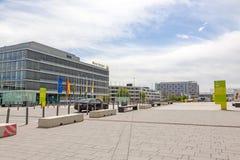 Targ handlowy Stuttgart, administracyjny budynek Zdjęcie Stock