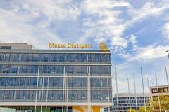 Targ handlowy Stuttgart, główny budynek Fotografia Royalty Free