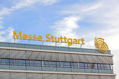 Targ handlowy Stuttgart, główny budynek Obraz Stock