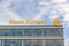 Targ handlowy Stuttgart, główny budynek Zdjęcia Stock