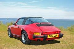 Targa classico di carrera di Porsche Fotografia Stock Libera da Diritti