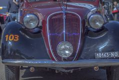 Targa Florio Classic royalty free stock photography