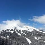 Targee grande da montanha do esqui Fotos de Stock Royalty Free