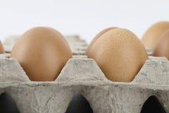 target278_1_ łamający kulinarnych obrazu jajek nietknięty postęp niektóre taca obrazy stock