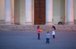 target1087_1_ ścieżki zawierać sztuka balowi dzieci Obraz Royalty Free
