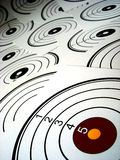 Target. A lot of targets, no hits Royalty Free Stock Images