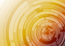 Target. Red and orange background with lighter circles Royalty Free Stock Photo